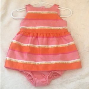 Janie and Jack dress with matching bloomers